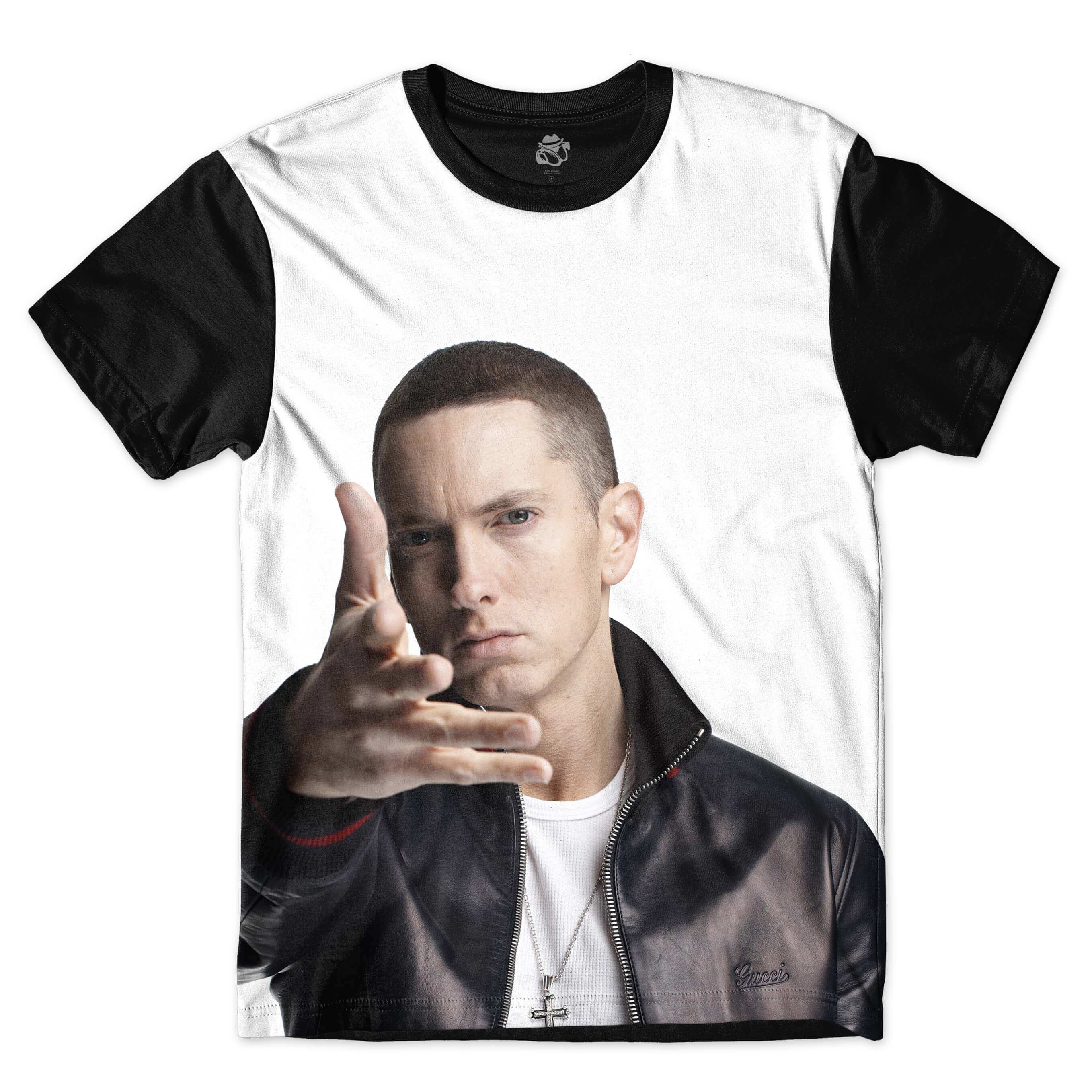 Camiseta BSC Slim Shady Full Print Preto