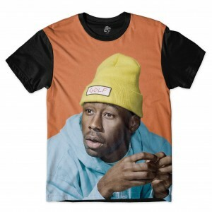 Camiseta BSC Tyler The Creator Sublimada Preto