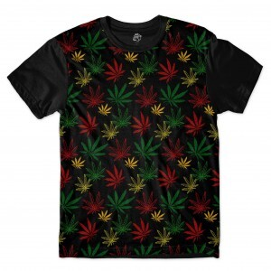 Camiseta BSC Color Hemp Full Print Preto