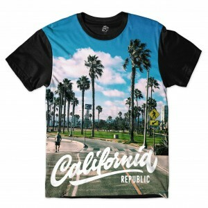 Camiseta BSC California Park Sublimada Preto