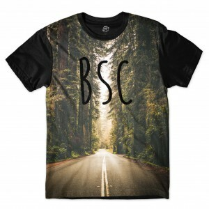 Camiseta BSC Road Full Print Preto
