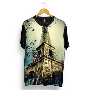 Camiseta BSC Paris Sublimada Preto