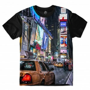 Camiseta BSC New York Full Print Preto