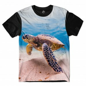 Camiseta BSC Turtle Sublimada Preto