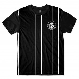 Camiseta BSC Football Club Sublimada Preto/Preto