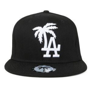 Boné BLVD Supply Snapback LA Palm Preto/Branco