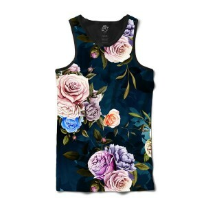 Camiseta BSC Regata Camouflaged flower Sublimada Preto