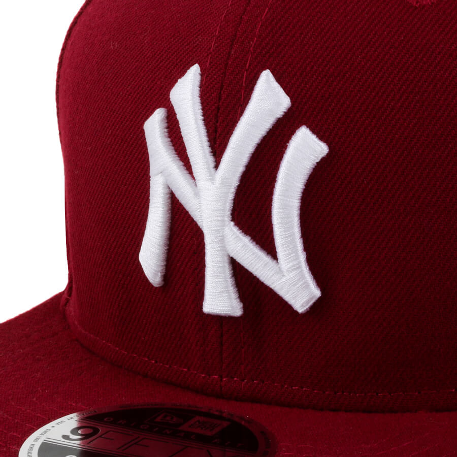 Boné New Era Snapback 9Fifity New York Yankees Vinho