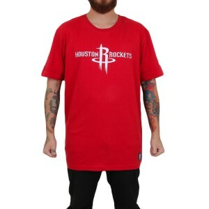 Camiseta New Era Houston Rocket Vermelho