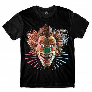 Camiseta BSC Evil Clown Sublimada Preto