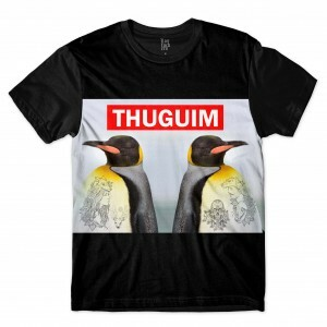 Camiseta BSC Pinguins Thugim Sublimada Preto