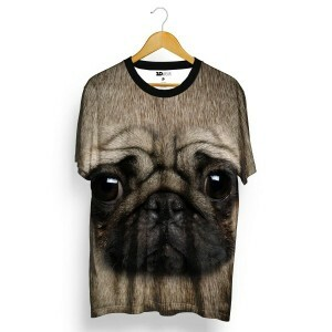 Camiseta 3D Wear Pug Total Full Print