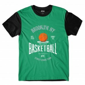 Camiseta BSC Brooklyn Sublimada Preta