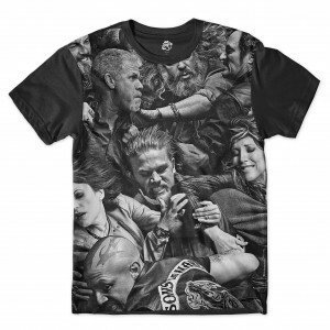 Camiseta BSC Sons of Anarchy Full Print