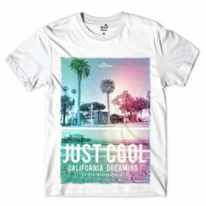 Camiseta Long Beach Cali Full Print Branco