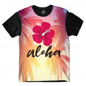 Camiseta BSC Aloha Sublimada Colors