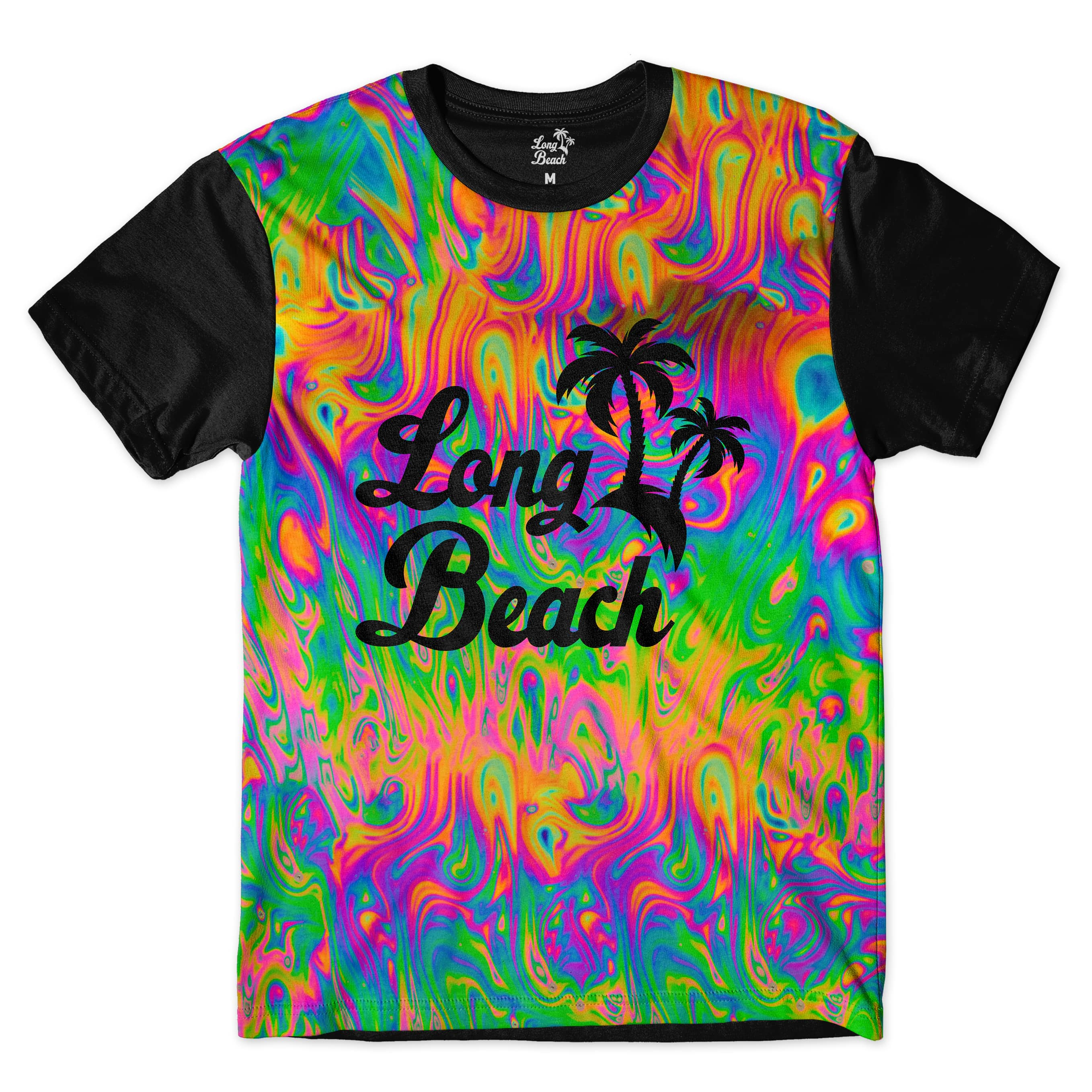 Camiseta Long Beach Ilusão 1 Full Print Colors