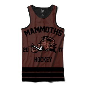 Camiseta Regata BSC Hockey Mammoths Sublimada Preto / Marrom