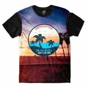 Camiseta Long Beach California Palmeiras Full Print Colors
