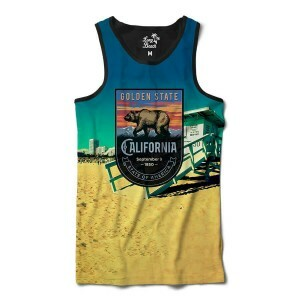 Camiseta Regata BSC California Venice Sublimada Colors