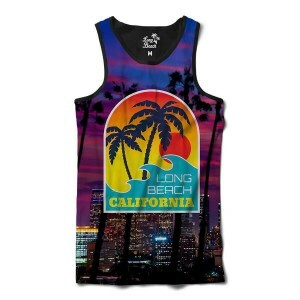 Camiseta Regata BSC California Purple Sublimada Roxo Fosco