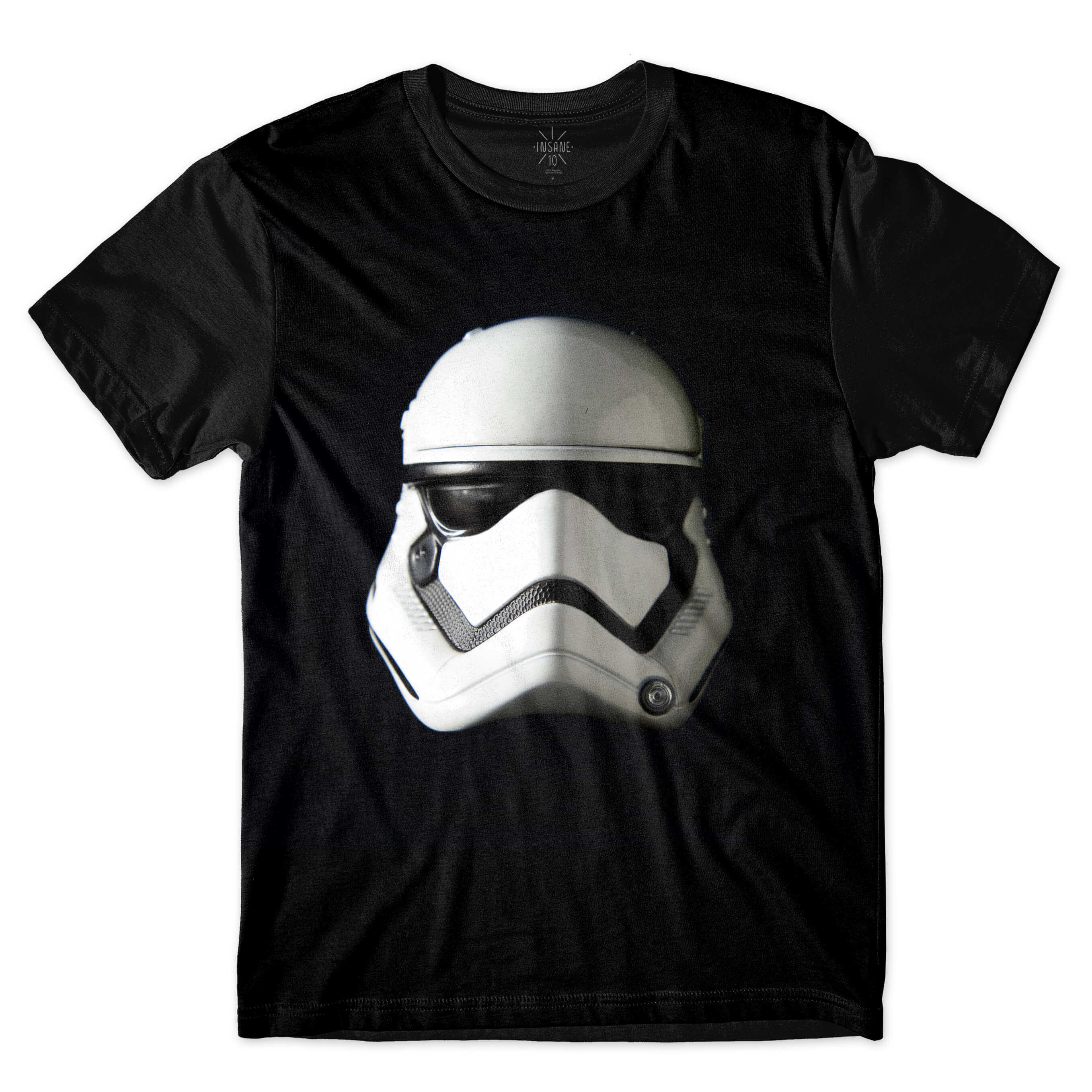 Camiseta BSC Star Wars Máscara Stormtrooper Sublimada Preto