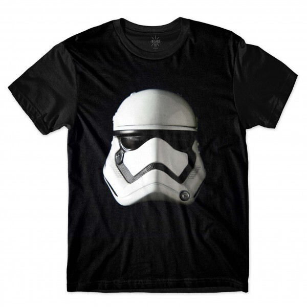 Camiseta Insane 10 Star Wars Máscara Stormtrooper Full Print Preto