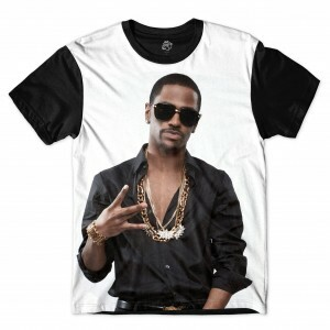 Camiseta BSC Rappers Big Sean Full Print Branco / Preto