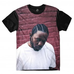 Camiseta BSC Rappers Kendrick Lamar Sublimada Colors