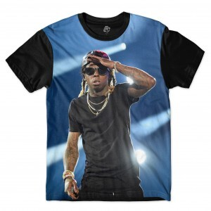 Camiseta BSC Rappers Lil Wayne Show Full Print Colors