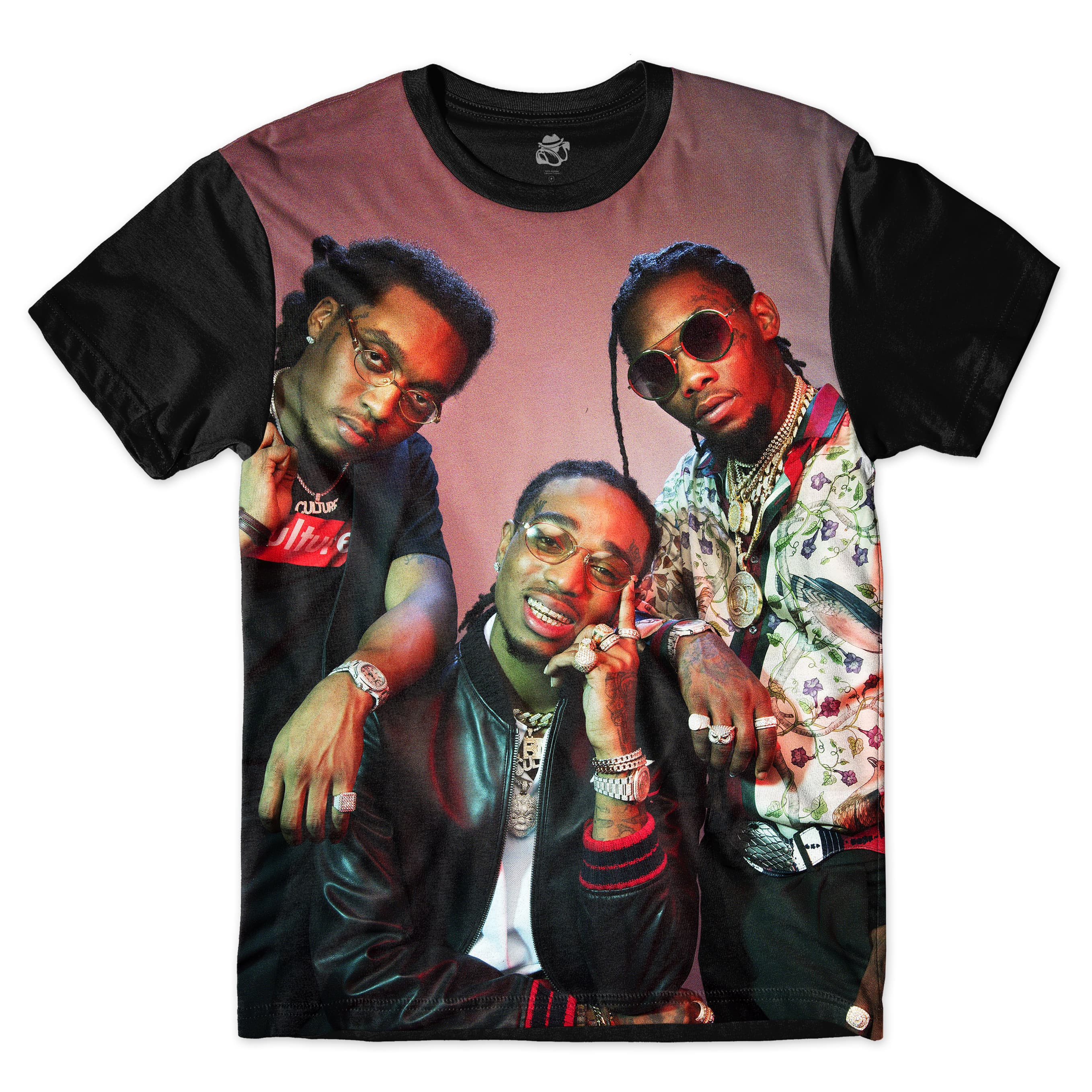 Camiseta BSC Rappers Migos Sublimada Colors