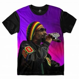 Camiseta BSC Rappers Snoop Dogg Sublimada Colors