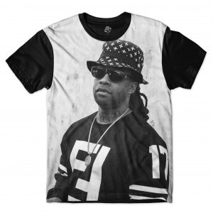 Camiseta BSC Rappers Ty$ Full Print Cinza