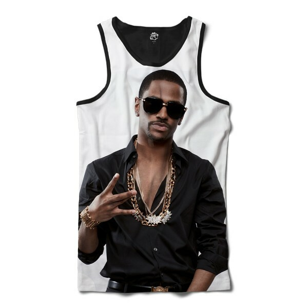 Regata BSC Rappers Big Sean Full Print Branco / Preto