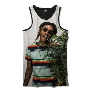 Regata BSC Rappers Wiz Khalifa Marijuana Sublimada Colors