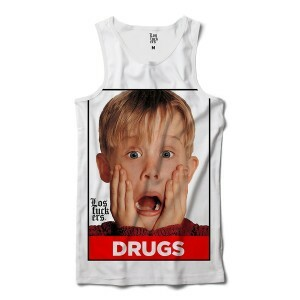 Regata Los Fuckers Ícones Macaulay Drugs Full Print Branco