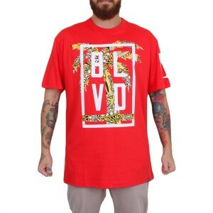 Camiseta BLVD Supply Champ Ring Upscale Vermelho