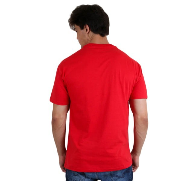 Camiseta Diamond Supply Co USA Team Vermelho