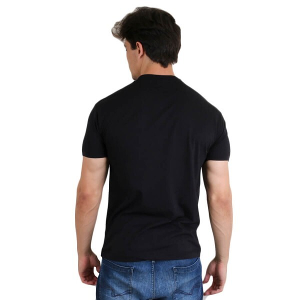 Camiseta Diamond Supply Co Linear Script Preto