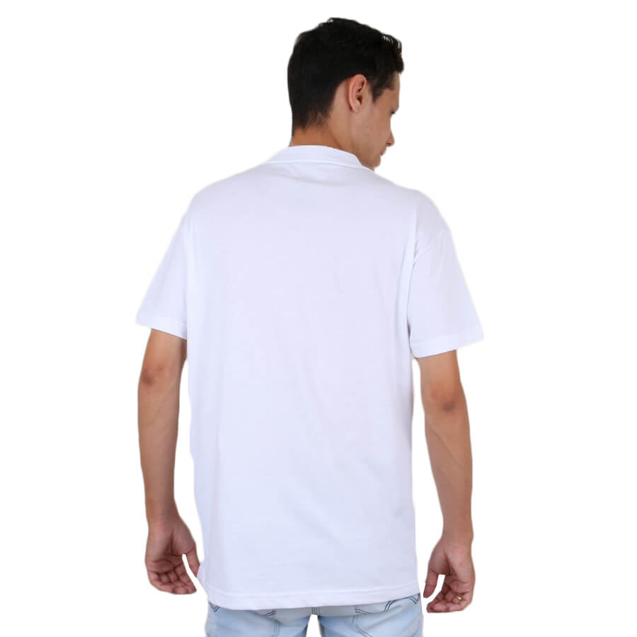 Camiseta Diamond Supply Co Linear Script Branco
