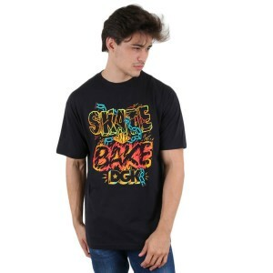 Camiseta DGK Skate and Bake Preto