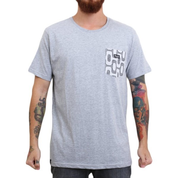 Camiseta Blaze Supply Sidewalk Cinza