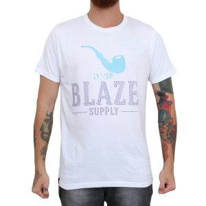 Camiseta Blaze Supply Logo Branco