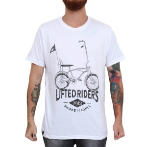 Camiseta Blaze Supply Lifted Riders Branco