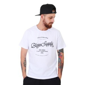 Camiseta Blaze Supply I Cant Come Down Branco