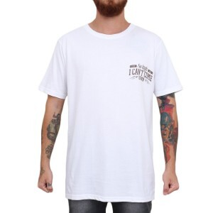 Camiseta Blaze Supply I Cant Come Branco