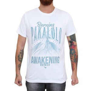 Camiseta Blaze Supply Burning Pakalolo Branco