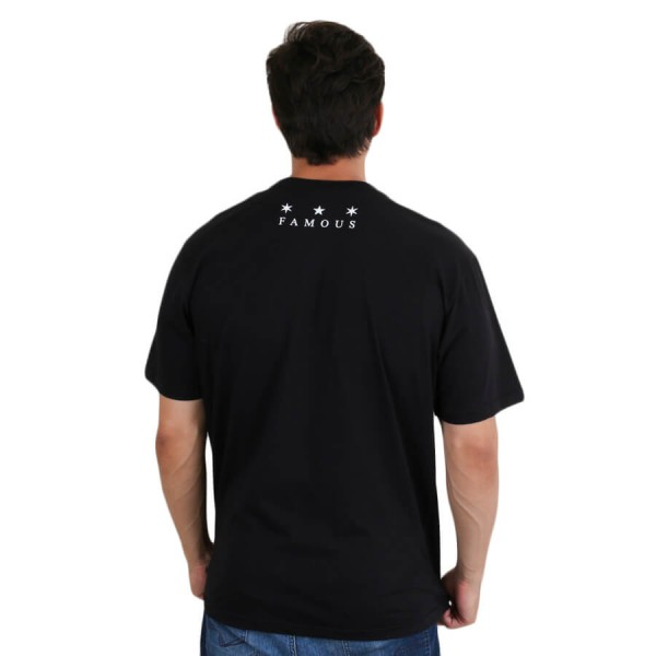 Camiseta Famous Stained Preto