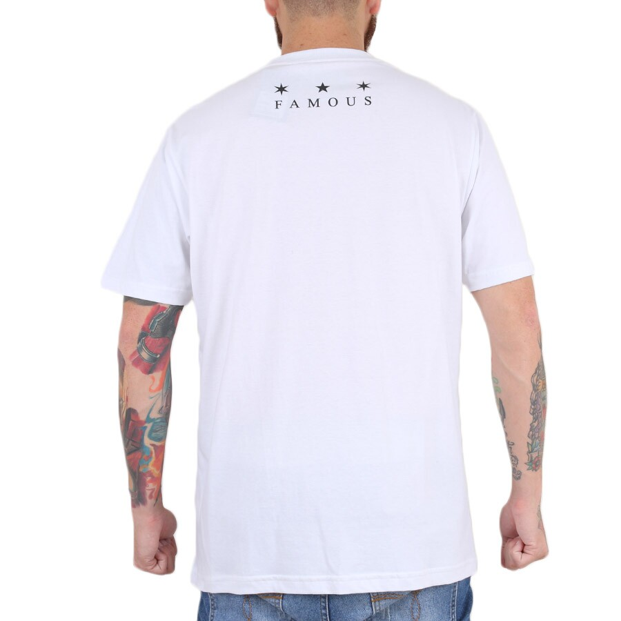 Camiseta Famous Stained Branco