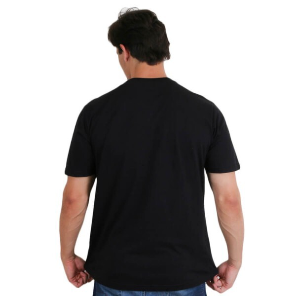 Camiseta Famous Chomed Out Preto